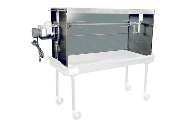 5' X 2' Charcoal Barbecue Oven Add On