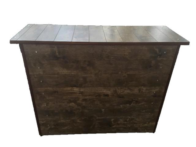 Folding Wood Plank Bar