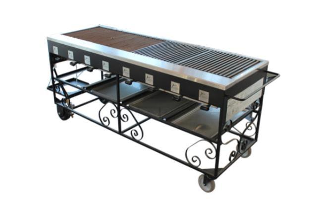 6' X 2' Steakmate Barbecue
