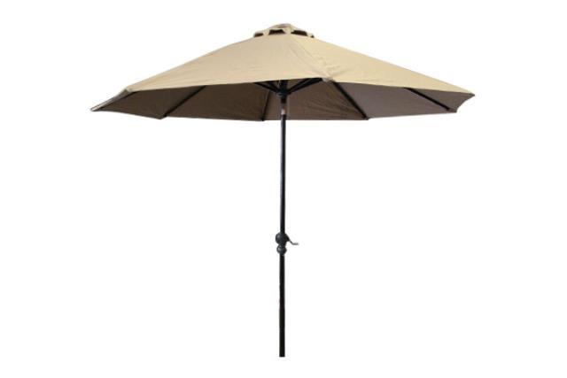 9' Tan Umbrella