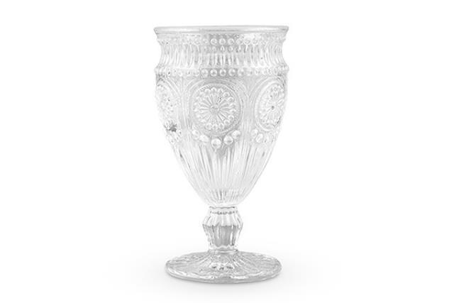 Vintage Clear Goblet