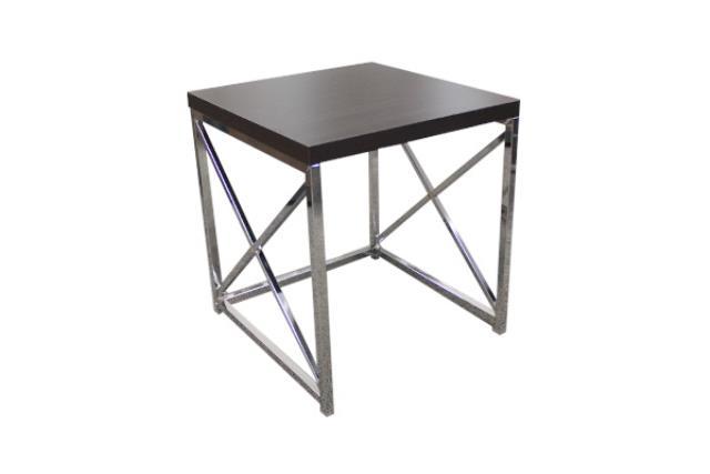 Small Espresso Monarch Side Table