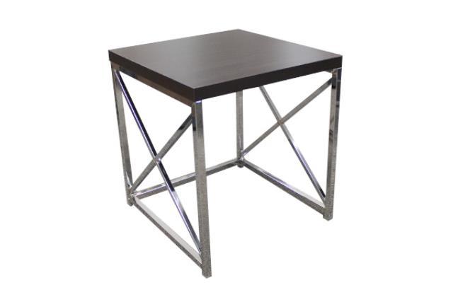 Large Espresso Monarch Side Table