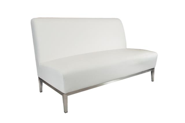 White Signature Loveseat