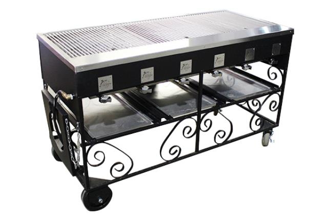 4.5' X 2' Steakmate Barbecue