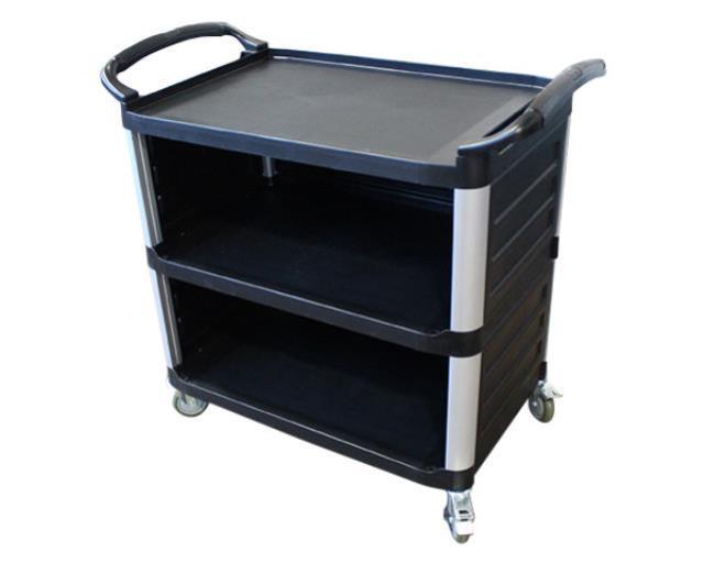 Grey 3 - Shelf Bus Cart
