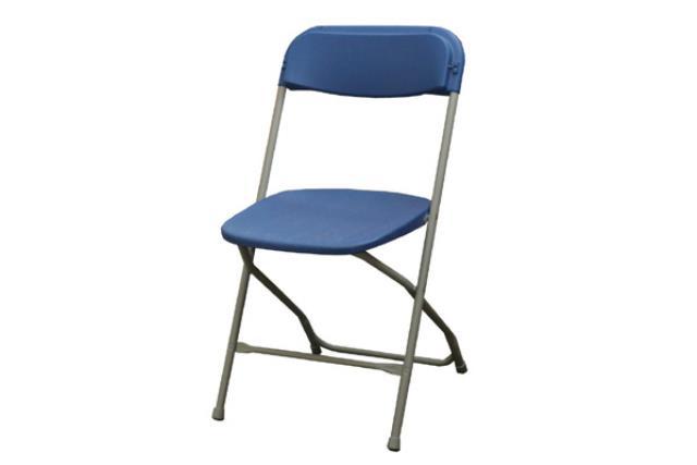 Royal Blue Folding Chair