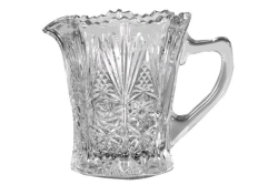 Country Flair Glass Creamer