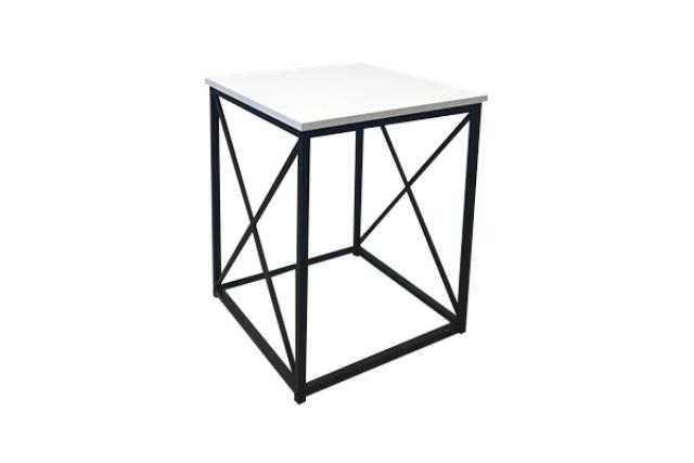 Small Black Monarch Side Table