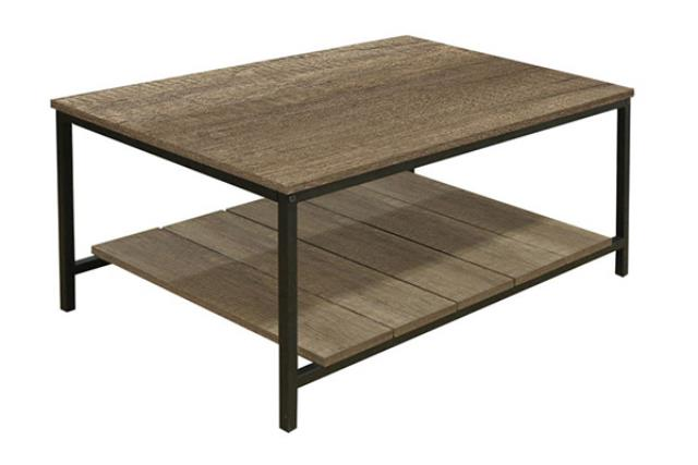 Industrial Oak Coffee Table