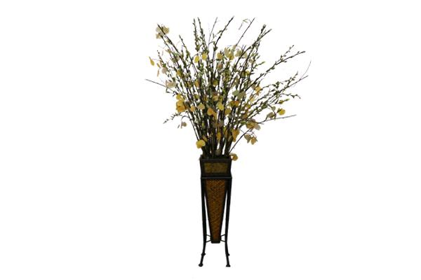 5' Pussy Willow With Stand