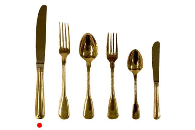 Gold, Dinner Knife