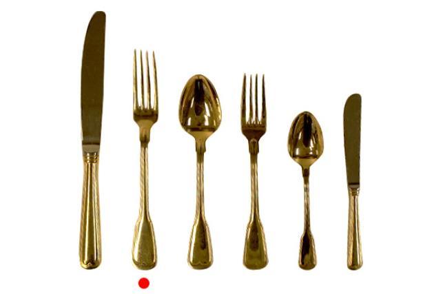 Gold, Dinner Fork