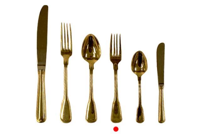 Gold, Dessert Fork