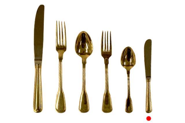 Gold, Butter Knife
