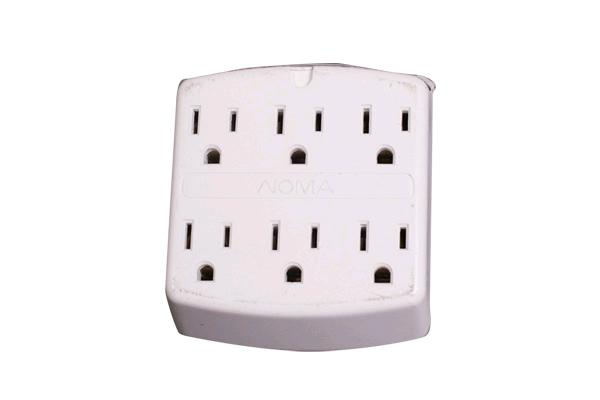 6 Outlet Multi-plug