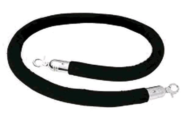 8' Black Velvet Rope