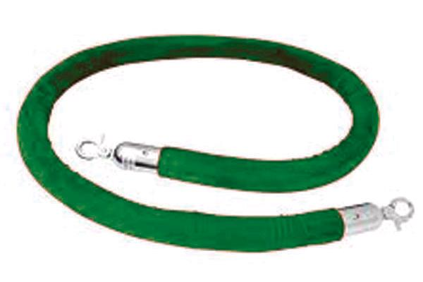 8' Green Velour Rope