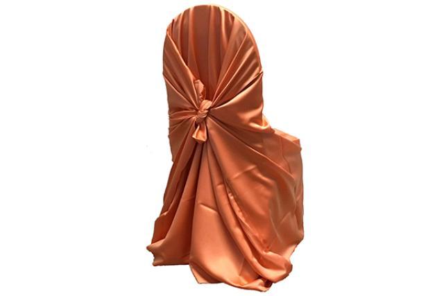 Saffron Satin Chair Wrap