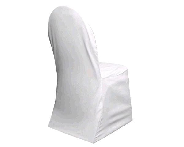 White Banquet Chair Cover