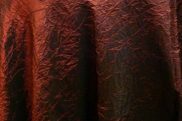 Burgundy Taffeta Chair Tie