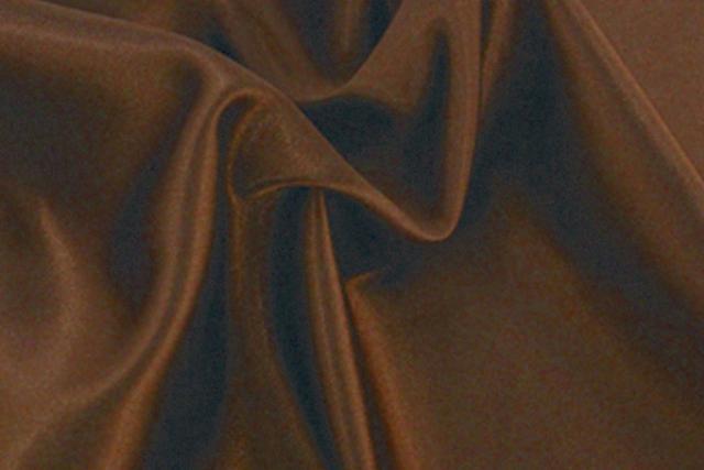 Chocolate Satin Chair Tie