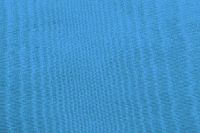 Grotto Blue Moire Chair Tie