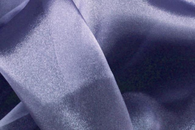 Lilac Organza Chair Tie