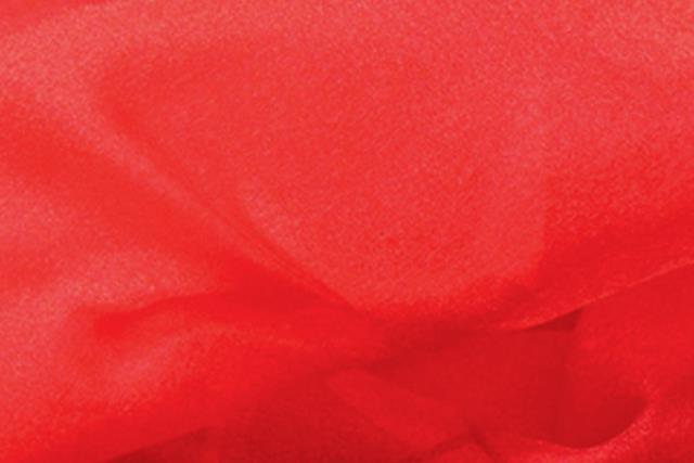Red Organza Chair Tie