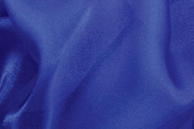 Royal Blue Organza Chair Tie