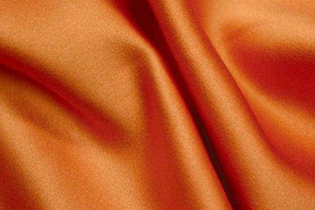Saffron Satin Chair Tie