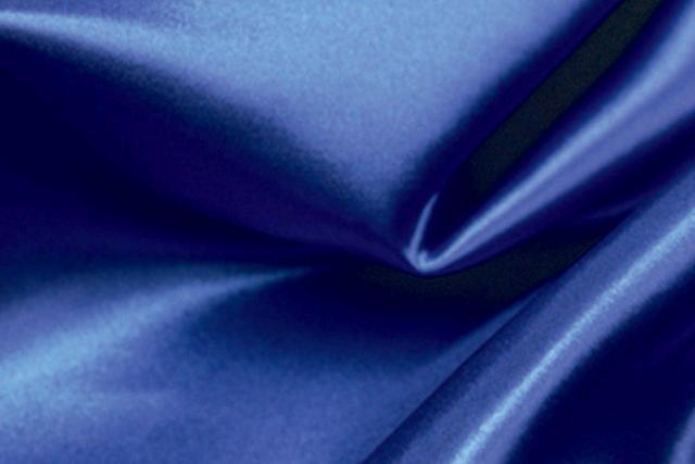 Sapphire Blue Satin Chair Tie