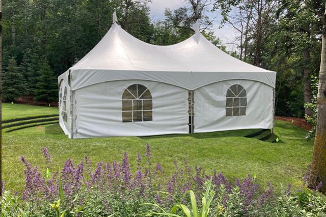 20' X 30' White Frame Tent