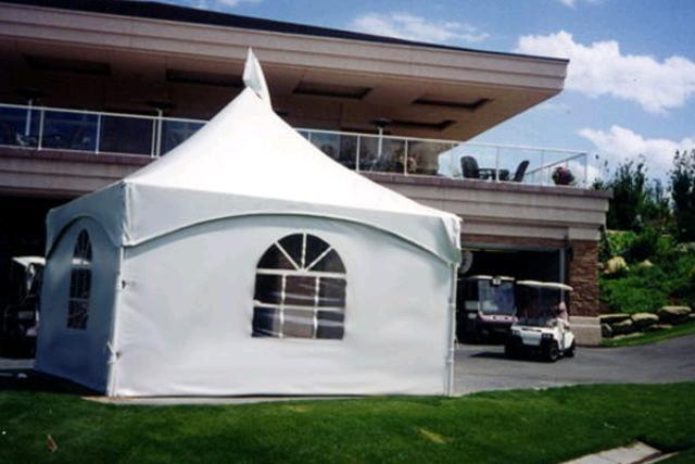 15' X 15' White Frame Tent
