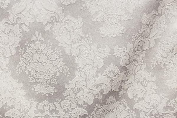 White Damask Linen