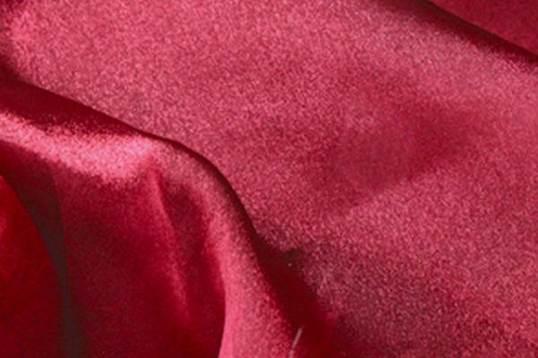 Burgundy Organza Linen