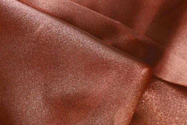 Copper Organza Linen