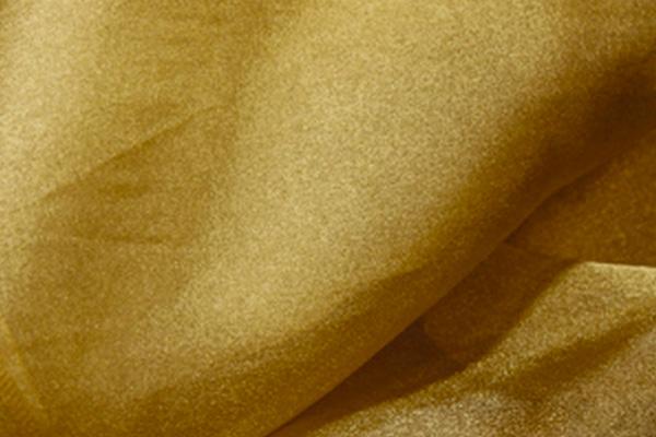 Gold Organza Linen
