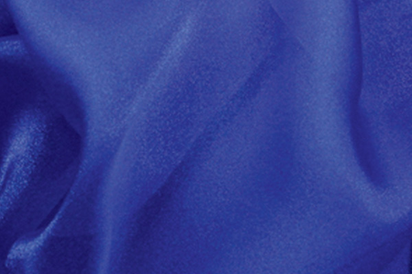 Royal Blue Organza Linen