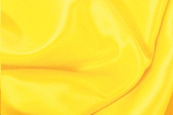 Lemon Satin Chair Tie