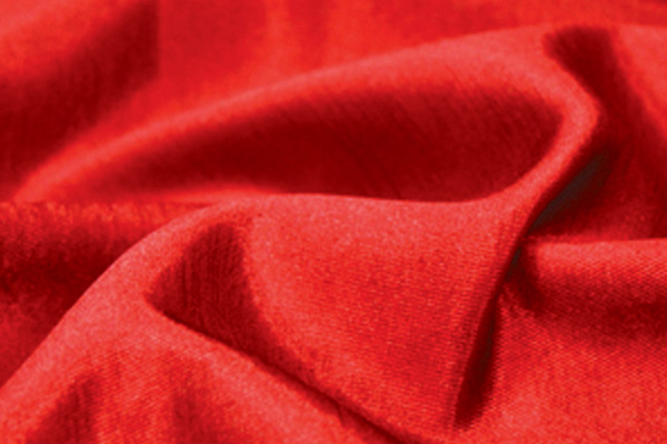 Cherry Red Majestic Linen