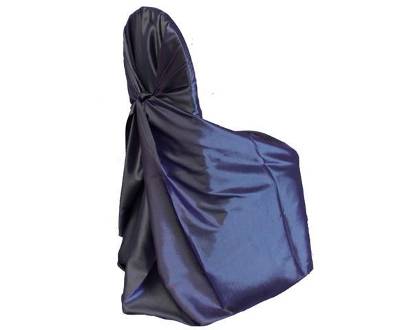 Periwinkle Tafetta Chair Wrap