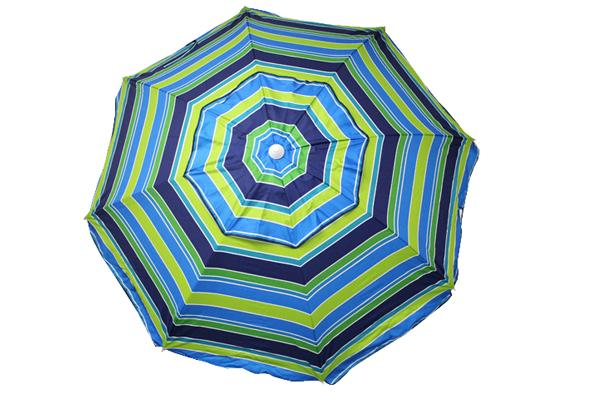 7' Vibrant Stripe Umbrella