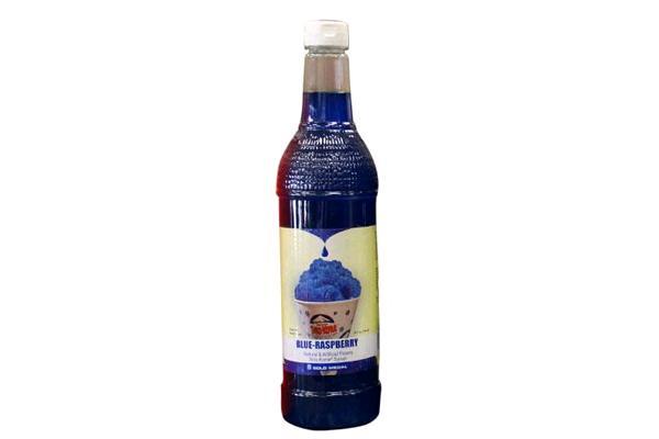 Sno-kone Syrup Blue Rasp 750ml