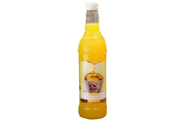 Sno-kone Syrup Pineapple 750ml