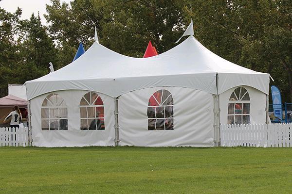 10' X 30' White Frame Tent