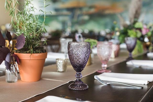 10.5 Oz Lavender Goblet